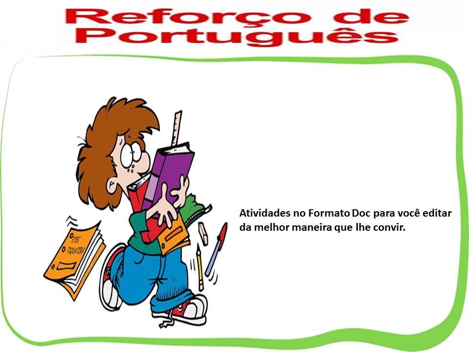 Atividades De Reforco De Lingua Portuguesa 2 Ao 9 Ano