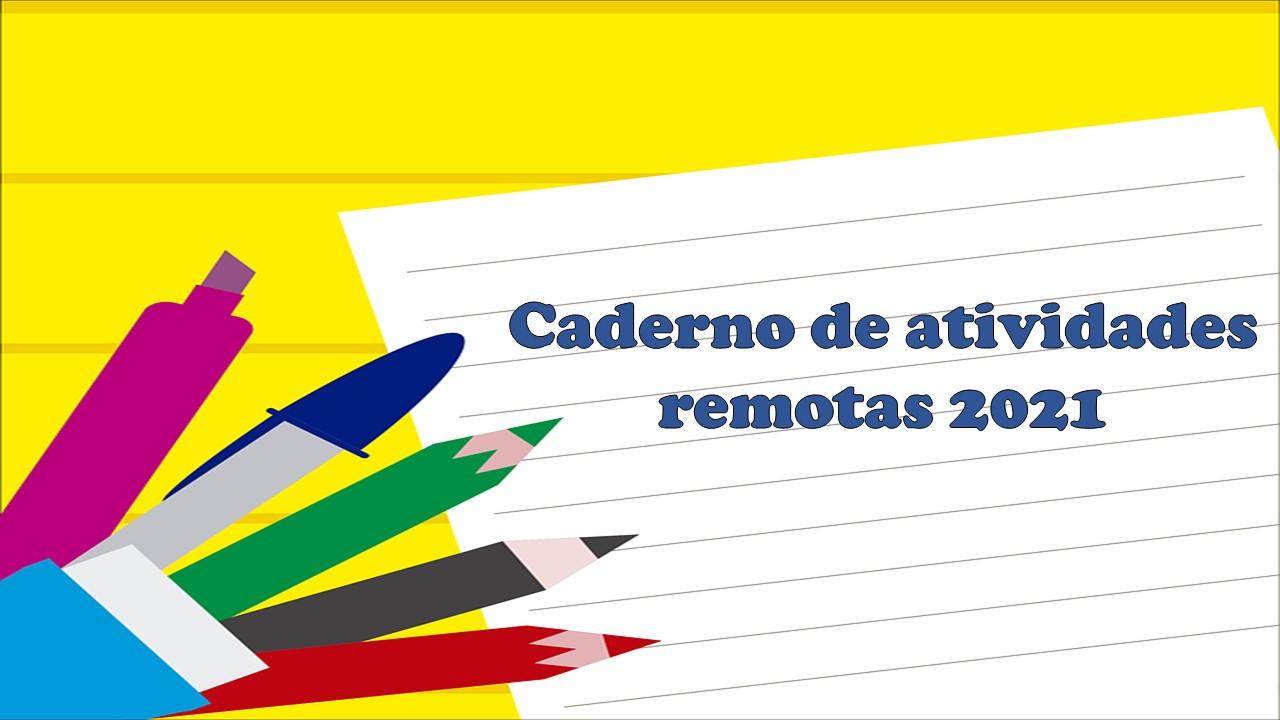 Caderno de atividades remotas 2021, Educação Infantil e Ensino Fundamental  II - Download - Matematicapremio